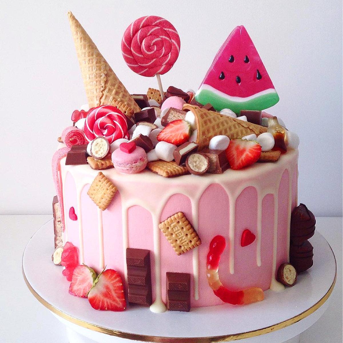 Как выбрать торт на День Рождения, виды тортов, начинок и украшений